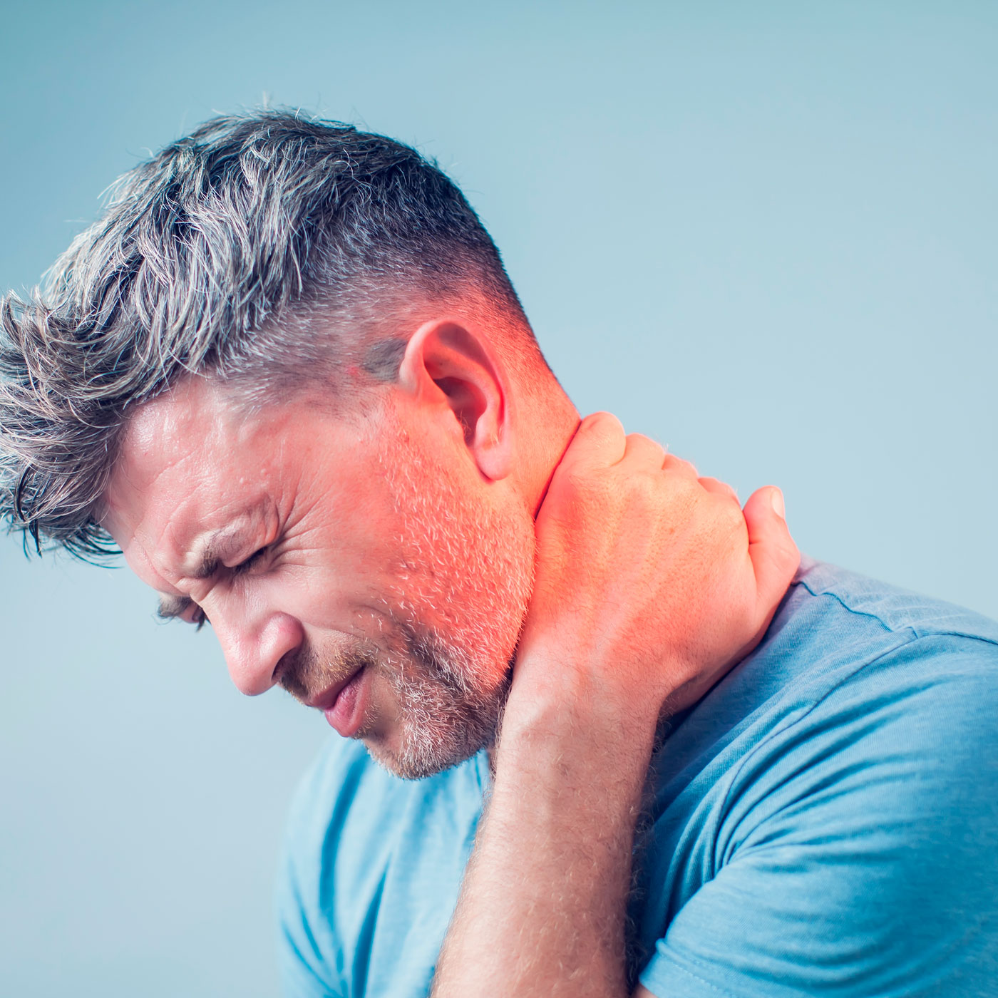 Tired Sore Neck Pain Treatment