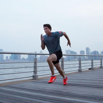 Essential Chiropractic and Healthcare Clinic - Keeping Healthy - Man Jogging Exercise