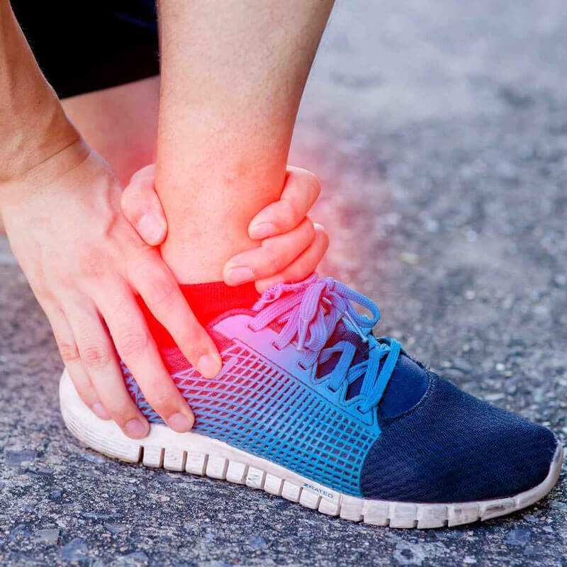 Essential Chiropractic and Healthcare Clinic - Podiatry Sprained Ankle Treatment and Relief
